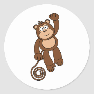 Cheeky Monkey Design Stickers