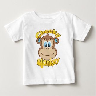 Cheeky Monkey  for boys Baby T-Shirt