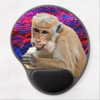 Cheeky monkey gel mousepad