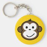 Cheeky Monkey Key Chain