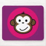 Cheeky Monkey Mouse Mats