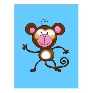 Cheeky monkey post card