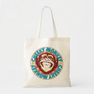 Cheeky Monkey Budget Tote Bag