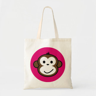 Cheeky Monkey Canvas Bags