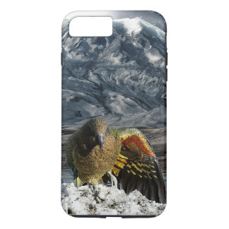 Cheeky new zealand kea mountain parrot iPhone 8 plus/7 plus case
