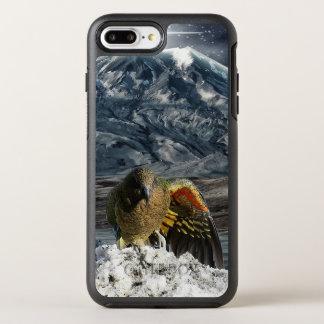 Cheeky new zealand kea mountain parrot OtterBox symmetry iPhone 8 plus/7 plus case