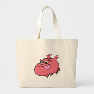 Cheeky Pig Canvas Bags