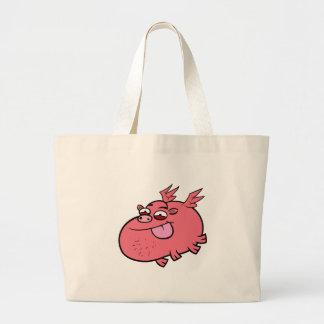 Cheeky Pig Jumbo Tote Bag
