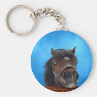 Cheeky pony, Customize me. Key Ring