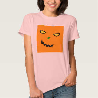 Cheeky Pumpkin Ladies Fitted Babydoll T-Shirt