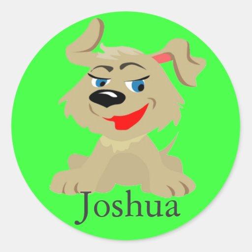 cheeky puppy sticker