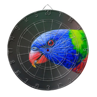 Cheeky-Rainbow-Lorikeet-silkenphotography Dartboard