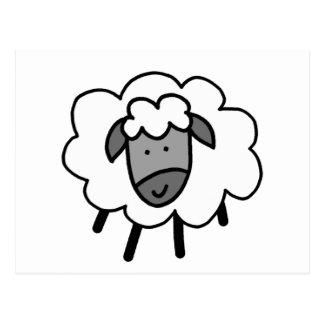 Cheeky Sheep Postcard