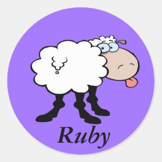 Cheeky Sheep stickers