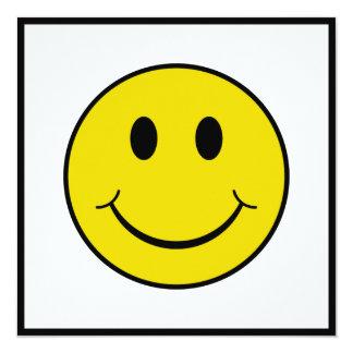 Cheeky Smiley 13 Cm X 13 Cm Square Invitation Card