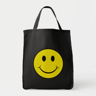 Cheeky Smiley Canvas Bags