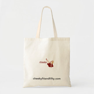 Cheeky Tote Canvas Bag