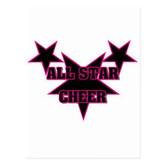 Cheer Allstar Postcard