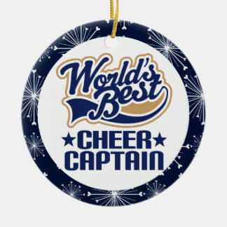 Cheer Captain Gift Ornament