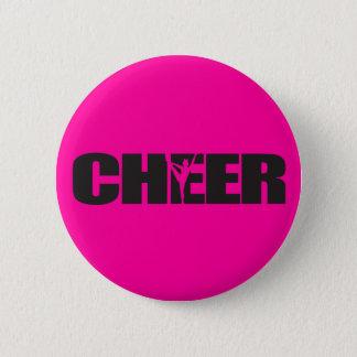 Cheer Cheer leader Cheerleading 6 Cm Round Badge