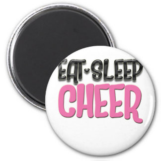 Cheer CHEERLEADER Cheer 6 Cm Round Magnet