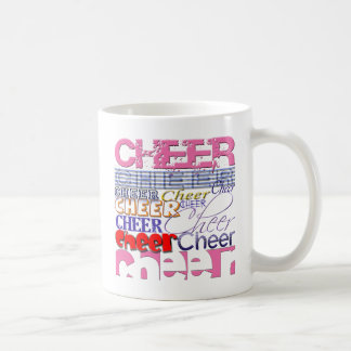 Cheer CHEERLEADER Cheer Coffee Mugs