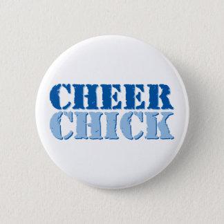 Cheer Chick 6 Cm Round Badge