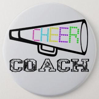 Cheer Coach 6 Cm Round Badge
