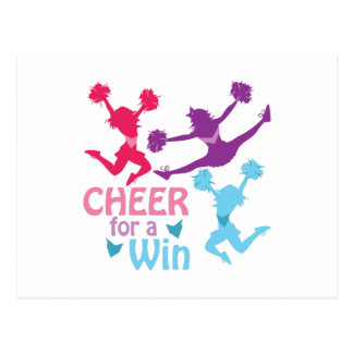 Cheer For A Win Postcard