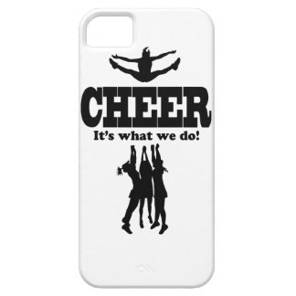 Cheer It's what we do! iPhone case