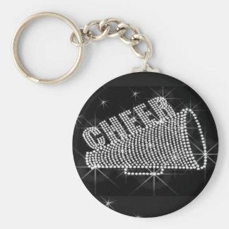 Cheer leading keychain, Copyright Karen J Williams Key Ring
