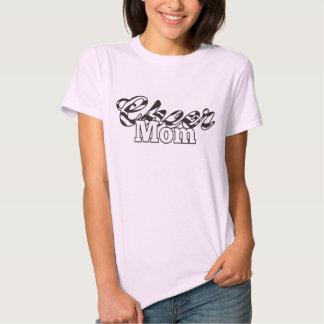 Cheer Mom Tshirt Zebra Print