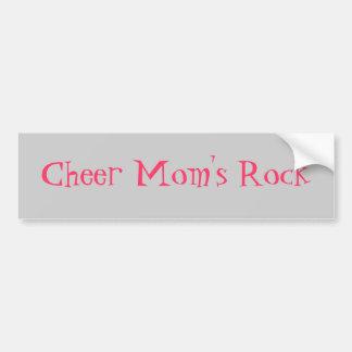 Cheer Mom's Rock Bumper Sticker