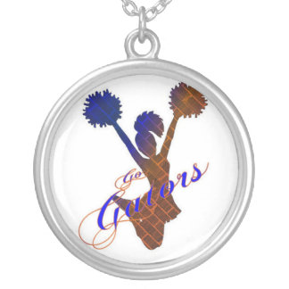 Cheer Princess Round Pendant Necklace