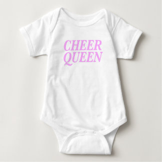 Cheer Queen Print Baby Bodysuit