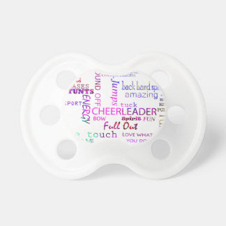 Cheer Spirit Baby Pacifier