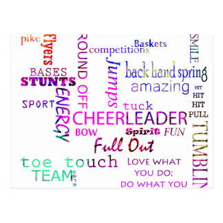 Cheer Spirit Postcard