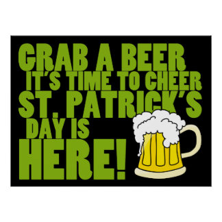 Cheer to St. Patrick's Day Poster