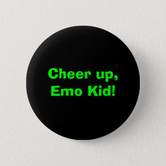 Cheer up, Emo Kid! 6 Cm Round Badge