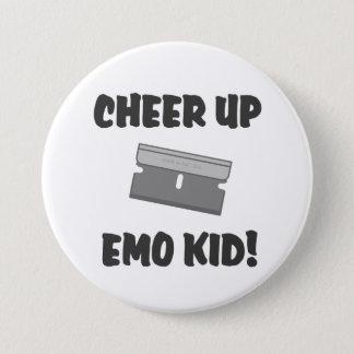 Cheer Up Emo Kid ! 7.5 Cm Round Badge