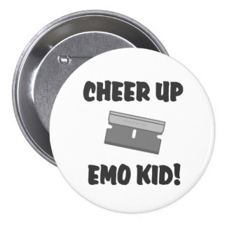 Cheer Up Emo Kid Buttons