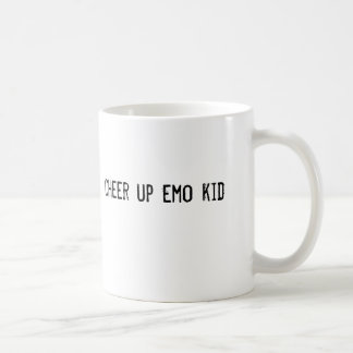 cheer up emo kid coffee mug