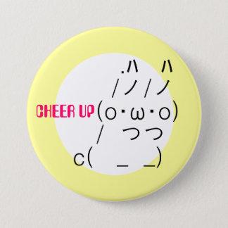 Cheer up Rabbit 7.5 Cm Round Badge