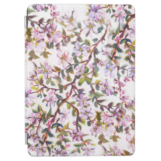 Cheerful Apple Blossom Blooms Acrylic Painting iPad Air Cover