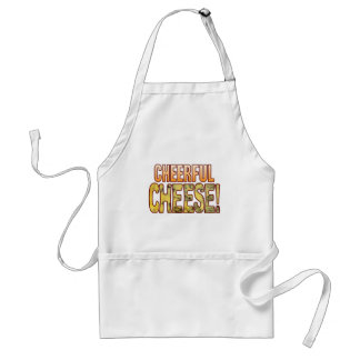 Cheerful Blue Cheese Standard Apron