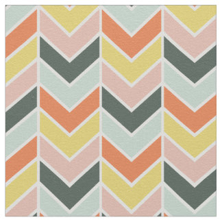 Cheerful Chevron Fabric