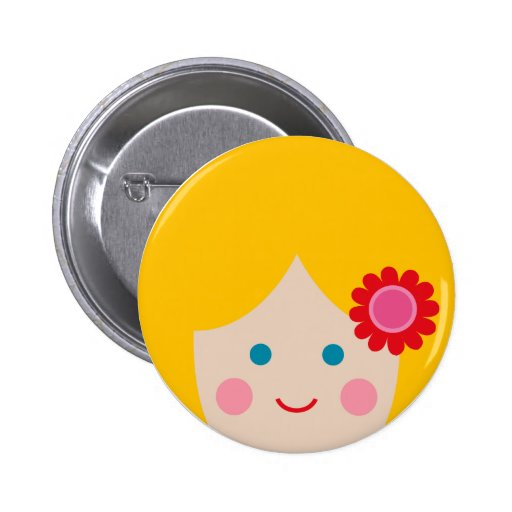 cheerful face 1 pins