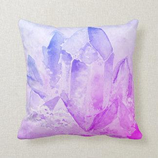 *~* Cheerful Fun Faux Amethyst Crystal Cushion