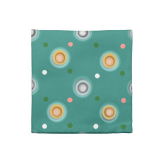 Cheerful Green Polka Dotted Napkin