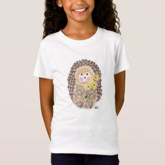 Cheerful hedgehog kid T-shirt